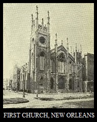 Picture of First Church, New Orleans, Publication Including it Dated 1917, 2-5-2015