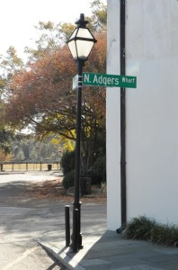 North Adgers Wharf Street Sign, Charleston, Web dpi, 8-21-2015