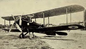 De Havilland DH-4, J. V. Wilson, 6-8-2016