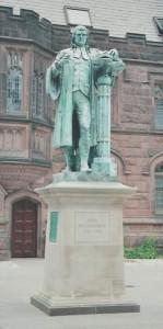 John Witherspoon Statue, Princeton University Campus, 6-2005, 8-31-13