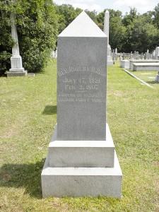 Reid Grave Marker, Front, Web dpi, 6-8-12