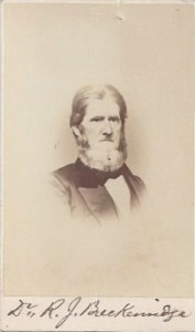 R. J. Breckinridge, My CDV, 100dpi