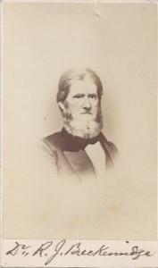 R. J. Breckinridge, My CDV, 100dpi