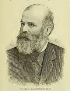 Samuel Miller Breckinridge, 1828-1891, Nevin