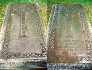 B. B. and Annie Warfield Graves, Princeton Cemetery,8-5-2015