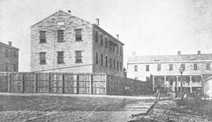1875, Ft. Leavenworth Military Prison,