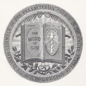 Seal of PCUSA, Adopted 1892, Web dpi, 8-14-2015