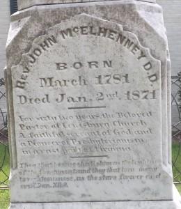 John McElhenney, Grave Inscription, 9-4-2015
