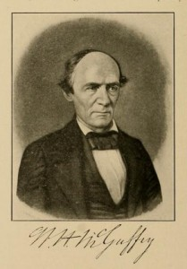 W. H. McGuffey, With Signature, 9-2-2015