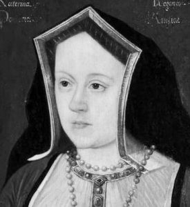 Catherine of Aragon, Black and White, 10-20-2015