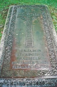 B. B. Warfield Grave, Princeton Cemetery