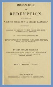 Stuart Robinson, Title Page, Discourses of Redemption, 1866