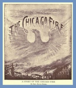 Title Page, David Swing, Great Chicago Fire, 1872