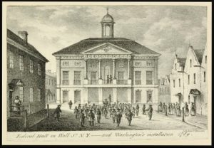 Federal Hall, NYC, 1789, NY Public Library Digital Public Domain Collection, 6-17-2016