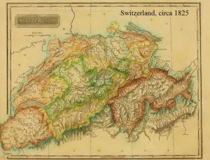 Switzerland, circa 1825, 6-16-2016
