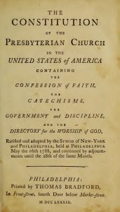 Title Page, 1789 Constitution of the PC, 6-16-2016