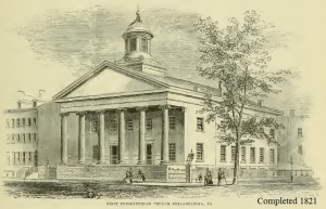 First Church, Philadelphia, PA, 1821, 7-7-2016