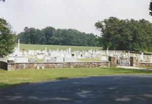 Fairview PCA, Fountain Inn, SC, Cemetery Overview, 1-17-13