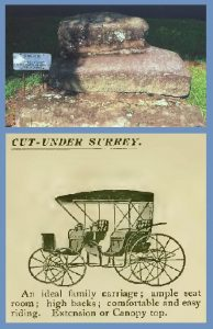 Upping Block and Carriage, 1892, 8-17-2016