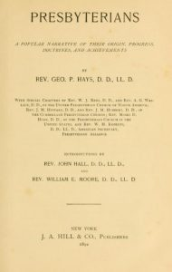 george-p-hays-title-page-presbyterians-11-15-2016