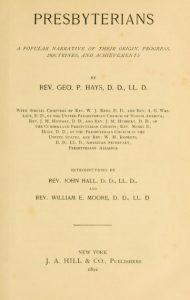 george-p-hays-title-page-presbyterians-11-15-2016